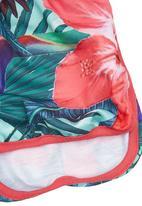 Smash - Girls Tropical Shorts Multi-colour