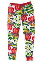 Smash - Leggings with Bright Print Multi-colour