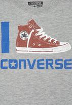 Converse - Boys Icon T-shirt Grey