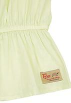 TORO CLOTHING - Baby Girl Voile Dress Light Green