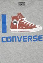 Converse - Boys Icon T-shirt Grey