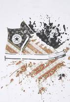 Converse - Flag Chuck Boys T-shirt White