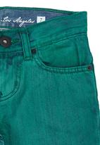 GUESS - Boys Colour Denim Shorts Green