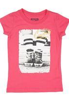 Converse - Vintage Girls T-shirt Pink