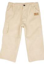 TORO CLOTHING - Boys Cargo Pants Beige