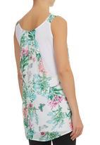 edit - Floral-printed Tunic Multi-colour