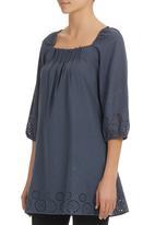 AMANDA LAIRD CHERRY - Tarryn Tunic Grey