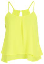 Ketz-ke - Double Layer Cami Yellow