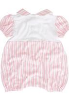 Poogy Bear - Romper Pink