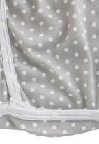 Poogy Bear - Polka-dot Onesie Grey