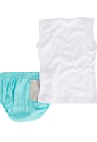 Pickalilly - Diaper Cover Set Green