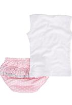 Pickalilly - Crown Diaper Set Pink