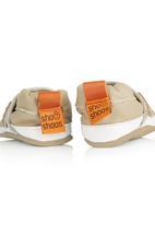 shooshoos - leather sneaker shoes Dark Brown