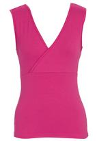 KARMA - Fitted Top Mid Pink