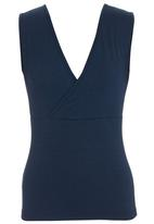 KARMA - Fitted Top Navy
