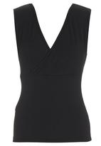 KARMA - Fitted Top Black