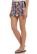 Smash - Tropical Mini Skirt Multi-colour