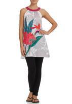 Smash - Tropical Print Tunic Multi-colour