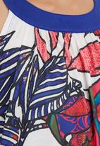 Smash - Floral Abstract Tunic Multi-colour