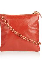 POP CANDY - Quilted Leather Bag Red