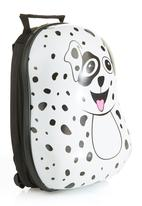 Luke & Lola - Dog Suitcase White