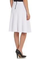 STYLE REPUBLIC - Scuba Skirt White