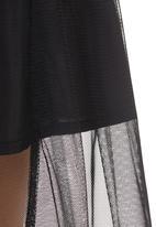 STYLE REPUBLIC - Mesh Skirt Black