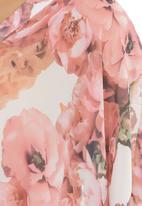 edit - Floral-Print Kaftan Multi-colour
