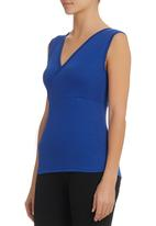 KARMA - Fitted Top Mid Blue