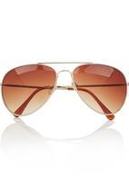 POP CANDY - Aviator Sunglasses Brown