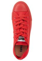 SOVIET - Low-cut Lace-up Sneakers Red