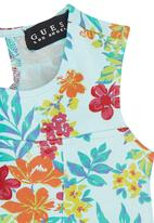 GUESS - Girls Floral-print Dress Multi-colour
