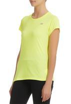 New Balance  - Activewear T-shirt Yellow