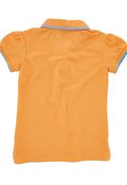 POLO - Girls Golf T-shirt Orange