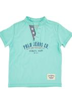 POLO - Boys Golf T-shirt Green