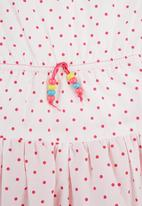 Precioux - Polka Dot Tulle Dress Pink