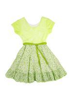 Precioux - Lace Bodice Dress Green