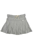 Precioux - Drawstring Skater Skirt Grey