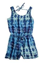Precioux - Girls Playsuit Blue