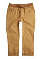 GUESS - Boys Skinny Roll-up Pants Neutral