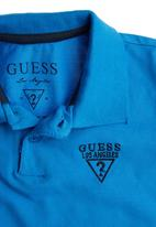 GUESS - Boys Golfer with Contrast Blue