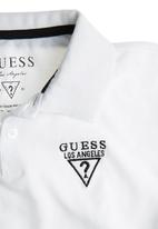 GUESS - Boys Golfer with Contrast White