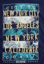 GUESS - New York T-shirt Dark Blue