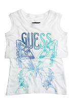 GUESS - Printed Top White
