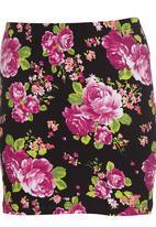 edge - High-waisted Mini Skirt Multi-colour