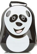 Luke & Lola - Panda Suitcase Black/White