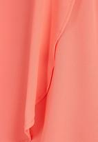 edit - Cross-Over Tunic Coral