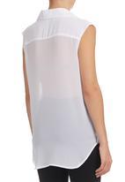 edit - Crossover Shirt White