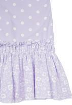 Just chillin - Spot-print Dress Pale Purple