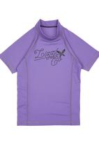 Lizzy - Toramon Teen Girls Rashvest Dark Purple